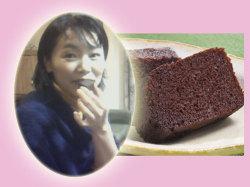 岡山の地酒,チョコレート酒ケーキ,コメント